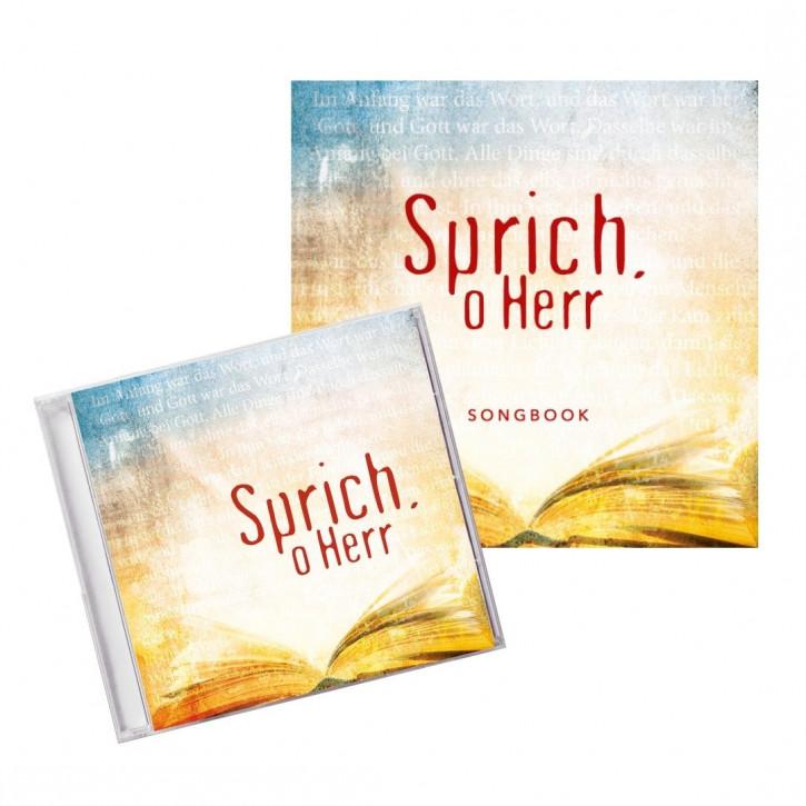 Aktion: CD Sprich, o Herr + Songbook