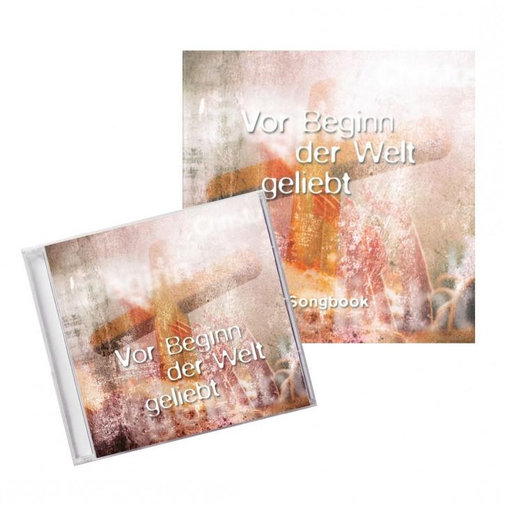 Aktion: CD Vor Beginn der Welt geliebt + Songbook