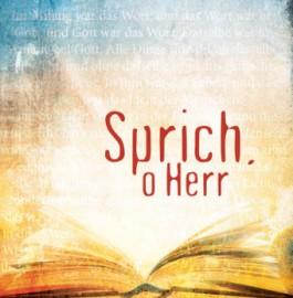 CD - Sprich, o Herr