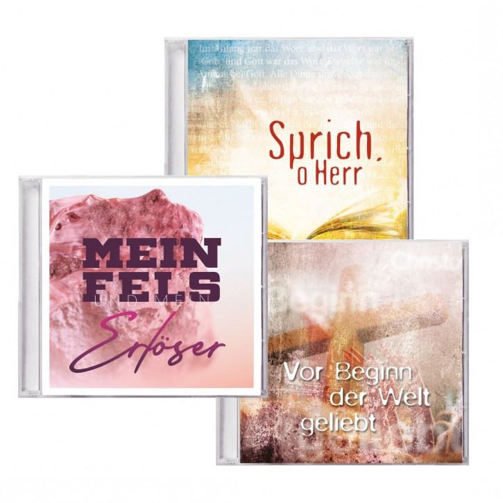Aktion: 3 Lobpreis-CDs des Arche-Chores